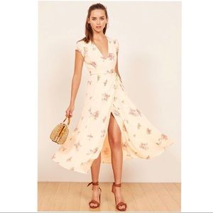 Reformation carina dress in natural